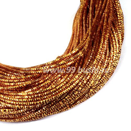 d48781d2d5b5 Трунцал (витая канитель) 1,5 мм, цвет MN-10 жёлто-оранжевый, Индия,  упаковка 5 грамм (разные отрезки, общая длина около 3 метров) 057427