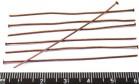 Пины гвоздики 60*0,7 мм, цвет старая медь 40 штук/упаковка 010120 - 99 бусин