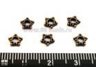 Разделитель Звездочка 5,5 мм цвет медь 20 шт/упак 01338 - 99 бусин
