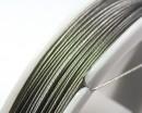 Тросик ювелирный 0,3 мм серебристый 45 метров/катушка 015476 - 99 бусин