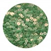 Пайетки плоские 4 мм Pistachio Green № 996 Индия 5 грамм (около 1300 штук) 053695 - 99 бусин