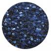 Пайетки плоские 4 мм Light Navy Blue № 845 Индия 5 грам (около 1500 штук) 053698 - 99 бусин