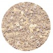Мини пайетки плоские 4 мм White Gold № 396 Индия 3 грамма (около 800 штук) 053709 - 99 бусин