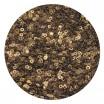 Пайетки плоские 4 мм Antique Gold Color Pearl Finish № 829 Индия 3 грамма (около 800 штук) 053829 - 99 бусин