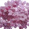 Мини пайетки плоские 3 мм Mulberry Color Crystal Finish  № 1478 Индия 5 грамм (около 1600 штук) 054142 - 99 бусин