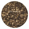 Мини пайетки плоские 2.5 мм  № 829 Antique Gold Pearl Finish Индия 3 грамма (около 1200 штук) 054261 - 99 бусин