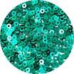 Пайетки плоские 2,5 мм  Parasailing Green № 1003 Индия 3 грамма (ок. 1200 штук) 057271 - 99 бусин