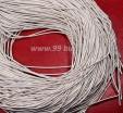 Канитель ОПТ 1 мм мягкая матовая, цвет MК-01 серебро 100 граммов/упаковка Индия 057316 - 99 бусин