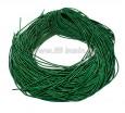 Канитель ОПТ 1 мм мягкая матовая, цвет MК-19 травяной зелёный 50 граммов/упаковка Индия 057333 - 99 бусин