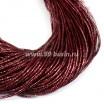 Трунцал (витая канитель) 1,5 мм цвет винный красный MN-13 5 граммов/упаковка (отрезки общей длиной ок. 3 метров) Индия 057408 - 99 бусин