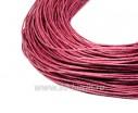 ОПТ Шнур вощёный 1 мм, цвет темно-розовый, в пасме, 100% хлопок около 73 метров 057970 - 99 бусин