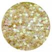 Мини пайетки плоские 4 мм Light Peach Color Transparent Finish Sequins № 836 Индия 3 грамма (около 800 штук) 058198 - 99 бусин
