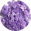 ОПТ Мини пайетки плоские 2,5 мм Light Purple № 1502 Индия 30 грамм 058203 - 99 бусин