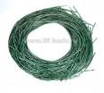 Канитель ОПТ SLIM FANCY 1,3 мм гладкая упругая, цвет sea green (морской зелёный металлик) 50 граммов (около 23 метров) 058365 - 99 бусин
