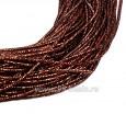 Канитель FANCY 1,5 мм гладкая упругая, цвет cuper/black (медь/черный) 5 граммов (около 2,0 метров) 058439 - 99 бусин