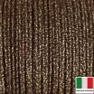 Сутаж премиум Италия 2 мм цвет Oro/Nero (золото/чёрный) 1 метр 058683 - 99 бусин