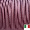Сутаж премиум Италия 4 мм цвет Lilla glamour (тёмная сирень) 1 метр 058689 - 99 бусин