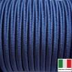 Сутаж премиум Италия 4 мм цвет Blu navy (синий) 1 метр 058695 - 99 бусин