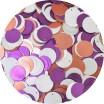 Пайетки Индия Mix круглые со смещенным центром, диаметр от 17 до 19 мм, анемоновый букет арт. 547, упаковка 5 грамм 059335 - 99 бусин