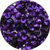 Пайетки 4 мм Индия форма чаша, цвет 364 чернильный, 5 грамм/упаковка 059439 - 99 бусин