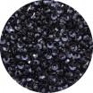 Пайетки 3 мм Индия форма чаша, цвет 425 искристый черный, 5 грамм/упаковка 059440 - 99 бусин