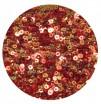 ОПТ Мини пайетки плоские 2.5 мм Scarlet Red Color Crystal Finish № 840 Индия 30 грамм/упаковка 059477 - 99 бусин