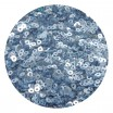 ОПТ Мини пайетки плоские 2.5 мм  № 847 Dream Blue Color Sequins Индия 30 грамм/упаковка 059479 - 99 бусин