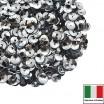 Пайетки 4 мм Италия чаша цвет 1111 Argento Metallizzato 3 грамма 059627 - 99 бусин