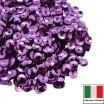 Пайетки 4 мм Италия чаша цвет 5031 Lilla Metallizzati ( Лиловый металлик) 3 грамма 059648 - 99 бусин