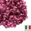 Пайетки 4 мм Италия чаша цвет 396W Rosa Scuro Satinato (Тёмная роза сатин) 3 грамма 059650 - 99 бусин
