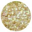 ОПТ Мини пайетки плоские 3 мм Light Peach Color Transparent Finish Sequins № 836 Индия 30 грамм/упаковка 059689 - 99 бусин