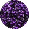 Пайетки 4 мм Индия форма чаша, цвет 412 фиолетовый, 5 грамм/упаковка 059698 - 99 бусин