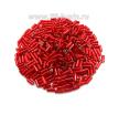 Стеклярус гладкий 5 мм Чехия Preciosa алый огонёк 97070 упаковка 10 грамм 05R97070 - 99 бусин