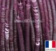 Пайетки 3 мм Франция плоские на нити цвет 10014 mat pale pink - бледно-розовый сатин (Серия METALLIC MAT ASPECT) 1000 штук 060432 - 99 бусин