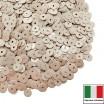 Пайетки Италия лаковые 4 мм цвет Burro (Сливочный) 3 грамма 060525 - 99 бусин
