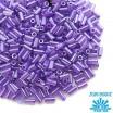 Стеклярус TOHO BUGLE 3 мм № 0922 фиолетовый перламутр 5 граммов Япония 060825 - 99 бусин