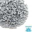 Стеклярус TOHO BUGLE 3 мм № 0053 светло-серый 5 граммов Япония 060831 - 99 бусин