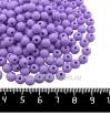 Бусины пластик 6 мм, цвет сиреневый, 200 штук/упаковка 061556 - 99 бусин