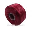 Нить Superlon (S-lon) AA цвет Dark Red, толщина 0,09 мм, катушка 68.58 метров 061663 - 99 бусин