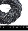 Натуральный камень ГЕМАТИТ форма Звездочка 6*2 мм, цвет натуральный, около 20 см/42 шт/нить 061694 - 99 бусин