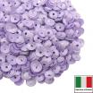 Пайетки Италия лаковые ЧАША 4 мм цвет Lilla (лиловый) 3 грамма 061899 - 99 бусин