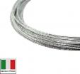 Проволока DRAGON metal Италия в обмотке цвет Argento (серебро) 0,3 мм, упак 5 м 061902 - 99 бусин