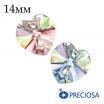 Подвеска хрустальная PRECIOSA Heart/Сердечко 14 мм Crystal AB 1 штука Чехия 062055 - 99 бусин