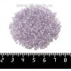 Рубка PRECIOSA граненая, размер 2,3*2,3 мм, прозрачная хрустальная нежно-сиреневое отверстие, арт. 38228, 10 грамм, Чехия 09R38228 - 99 бусин
