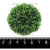 Рубка PRECIOSA граненая, размер 1,5*2,3 мм зелёный огонёк 57430, 10 грамм, Чехия 09R57430 - 99 бусин
