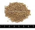 Бисер Чехия глазурованный, размер 10, арт. 01710,жемчужные золотистые тона, 10 грамм 10b01710 - 99 бусин