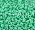 Бисер Чехия PRECIOSA непрозрачный, светло-зеленый блестящий, 10 размер, артикул 16156, упаковка 10 граммов 10b16156 - 99 бусин