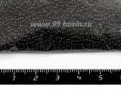 Бисер Чехия натуральный  непрозрачный, размер 10, арт. 23980, черный, УПАКОВКА 50 гр 10b23980b - 99 бусин