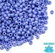 Бисер TOHO №15 цвет 0048L синий глянцевый ЯПОНИЯ пакет 5 граммов t150048L - 99 бусин