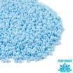 Бисер TOHO №11 цвет 0124 голубой перламутр ЯПОНИЯ пакет 10 граммов t110124 - 99 бусин